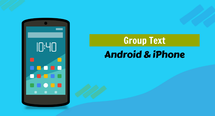Android Phone Group Text